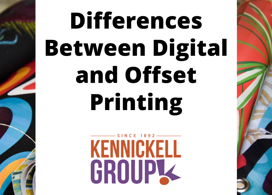 Differences Between Digital and Offset Printing