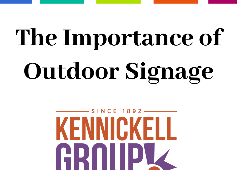 Importance of Outdoor Signage