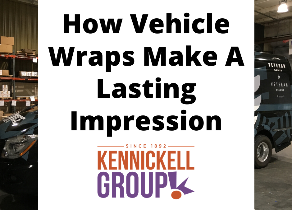 How Vehicle Wraps Make A Lasting Impression